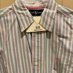 Men's Polo Ralph Lauren Oxford Button Down Size M
